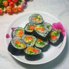 芝麻肉松寿司