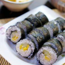 清爽玉米寿司