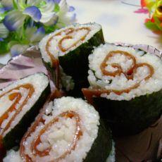 果卷叠层寿司