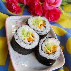 卷心菜寿司的做法