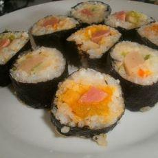 自创五彩寿司