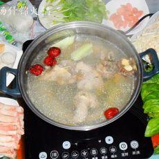 猪骨汤什锦火锅的做法
