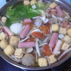 菌菇清汤火锅的做法
