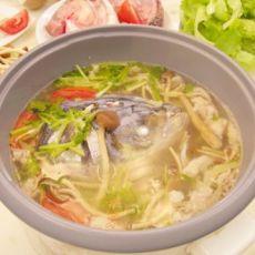 鳙鱼头火锅