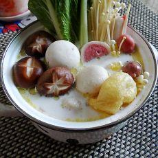 椰浆鸡汤火锅的做法