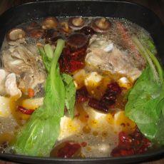 红油猪骨汤火锅