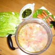 番茄鱼肉火锅