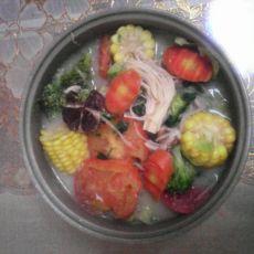 豆浆素火锅的做法