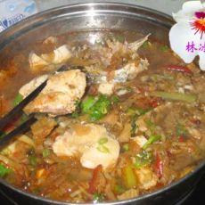 耳朵菜炖鱼火锅
