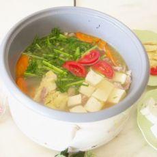 雪里蕻豆腐火锅