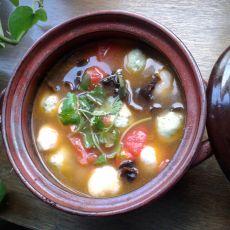 清汤丸子火锅的做法