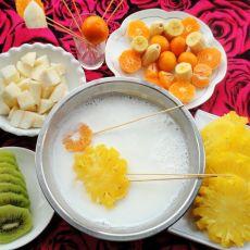 椰香水果锅