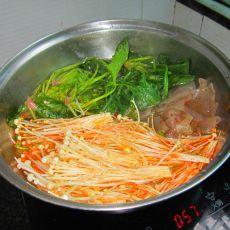 素菜香辣锅的做法