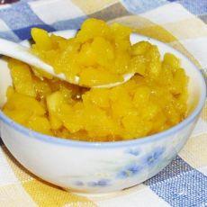 菠萝果肉果酱