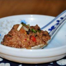 香菇猪肉酱的做法
