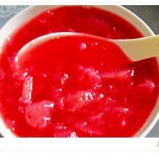 甜美红桃酱
