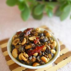 咸香酱料豆豉花生酱的做法