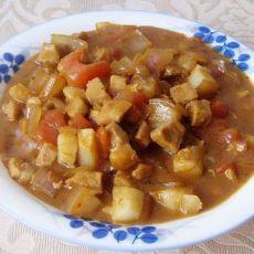 番茄洋葱肉丁酱的做法