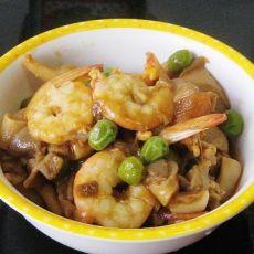 鲜虾杂蔬酱