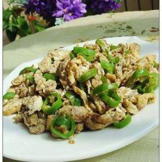 杭椒蛋炒蟹籽酱