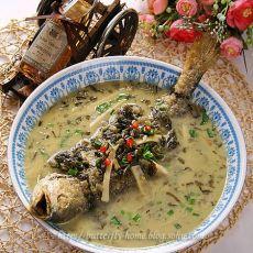 雪菜大汤黄鱼