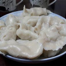 荠菜猪肉饺子的做法