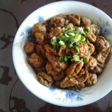 红烧油豆腐