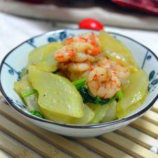 清炒虾仁黄瓜