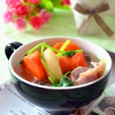 胡萝卜荸荠猪骨汤