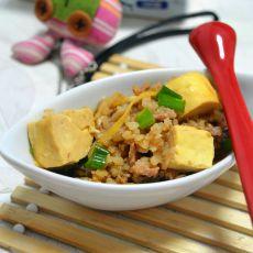 冬菜豆腐肉末的做法