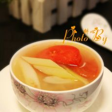 葱白番茄洋葱汤