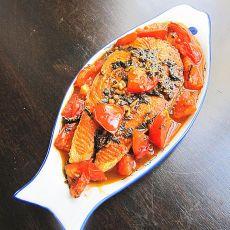 番茄三文鱼的做法