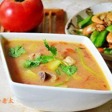 鸡丁杂蔬浓汤
