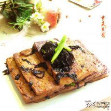 红烧紫菜豆腐