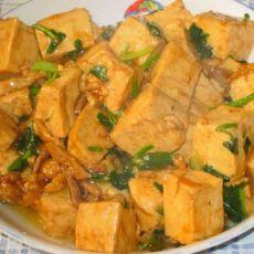 溜豆腐的做法