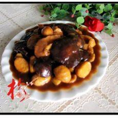 红烧香菇板栗
