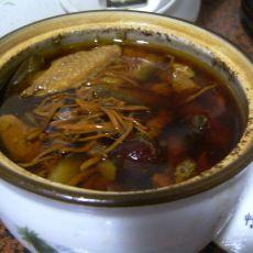 淮山虫草白鸽炖汤的做法