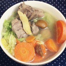 胡萝卜板栗老鸭汤的做法