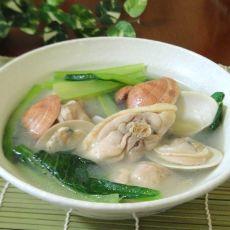 鸡肉蛤蜊汤