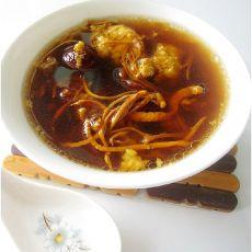 虫草花红枣瘦肉汤
