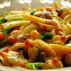 辣拌蛤蜊肉的做法