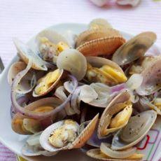 清鲜酒香烩蛤蜊