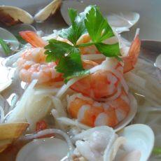 海鲜竹笋汤