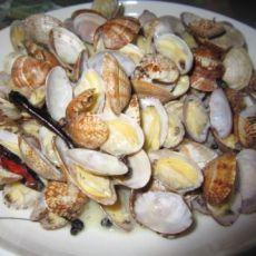 快炒菜--原汁辣蛤蜊
