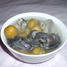 玉竹板栗乌鸡汤