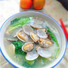 生菜蛤蜊汤