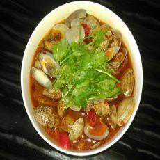 水煮蛤蜊的做法