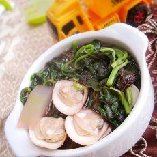 上汤蛤蜊苋菜的做法