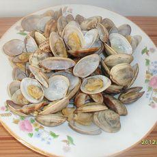 盐水蛤蜊的做法