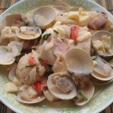 玉子豆腐烧蛤蜊